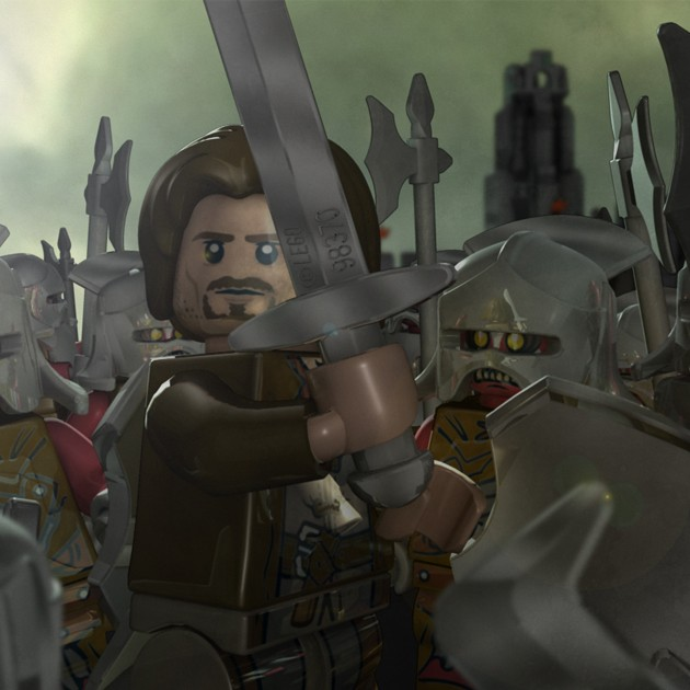 Lord of the Rings Lego online game