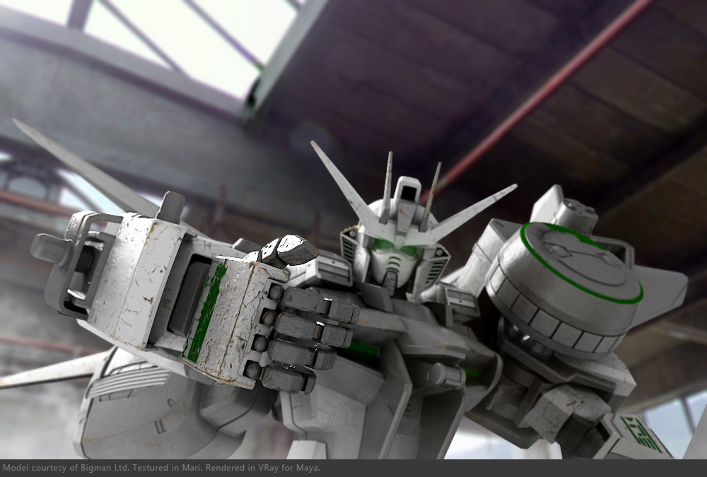 Image converted using gundam robot